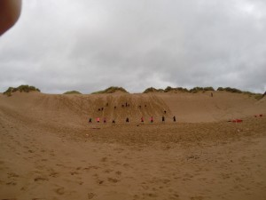 balmedie beach training one of our favourite events!