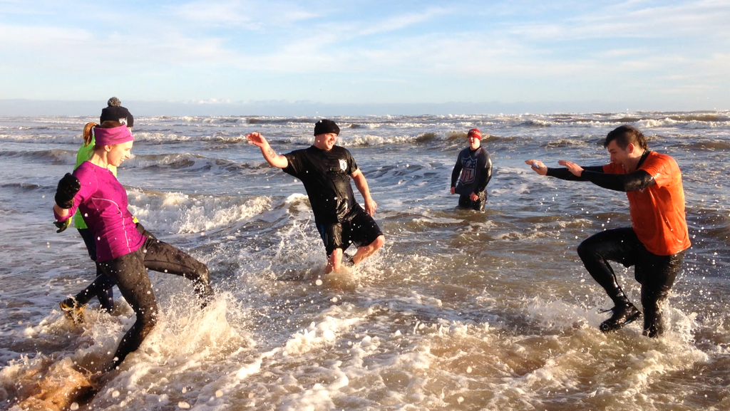 Portobello Beach training, an event not to be missed!