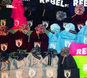 Keep your head cosy while looking super-cool in a RebelPT bobble hat. Made from 100% soft touch acrylic and available in 9 colours.