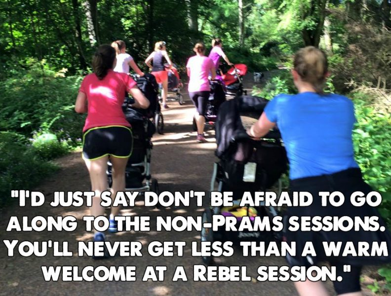 prams in the park to bootcamp transition