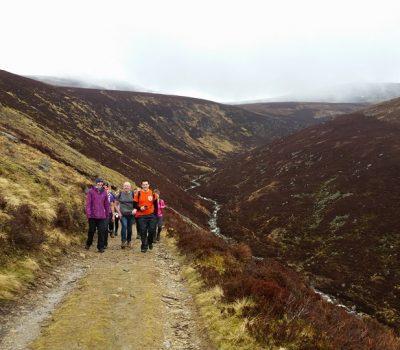 Loch Muick walk or run