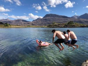 Torridon wild camp weekend