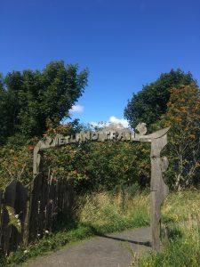 WEetland trail in Loch Leven