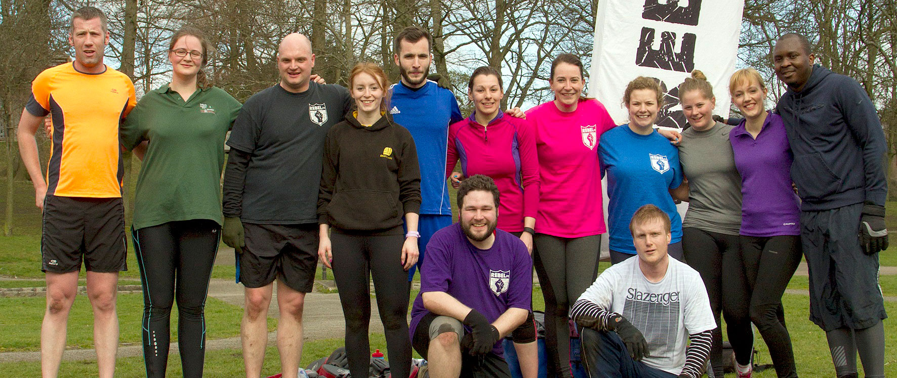 RebelPT is an outdoor, fitness and social club in Aberdeen. We're a community that believes in long term healthy lifestyles. We like to get fit and keep fit through outdoor exercise and group adventures. Our trainers run classes 6 days a week across Aberdeen and we regularly run events free to our members to promote a great social environment for you to enjoy life in the great outdoors.