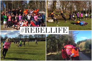 This is a small insight into the awesome Rebel life! Running, jumping, crawling, playing and sweating!