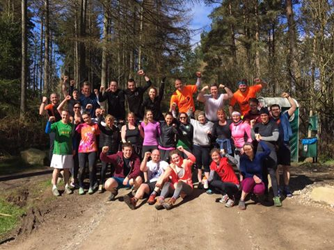 tough training in kirkhill forest