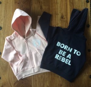 baby jumpers for the next Rebel generation!
