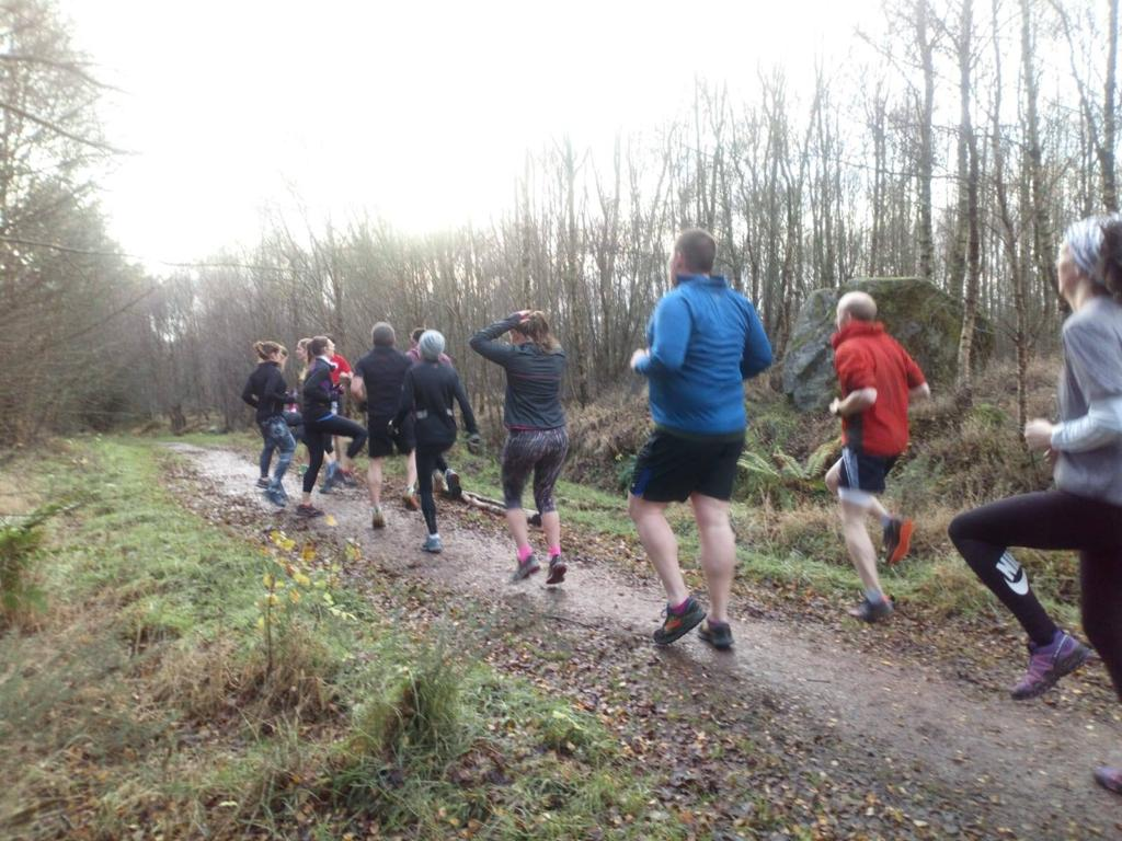 Maryculter Woods Forest training