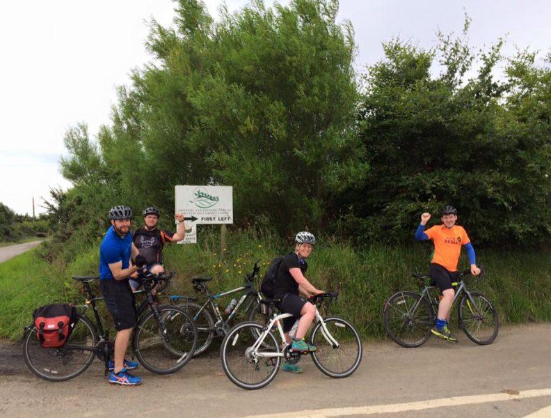 bike ride to Aberdeen
