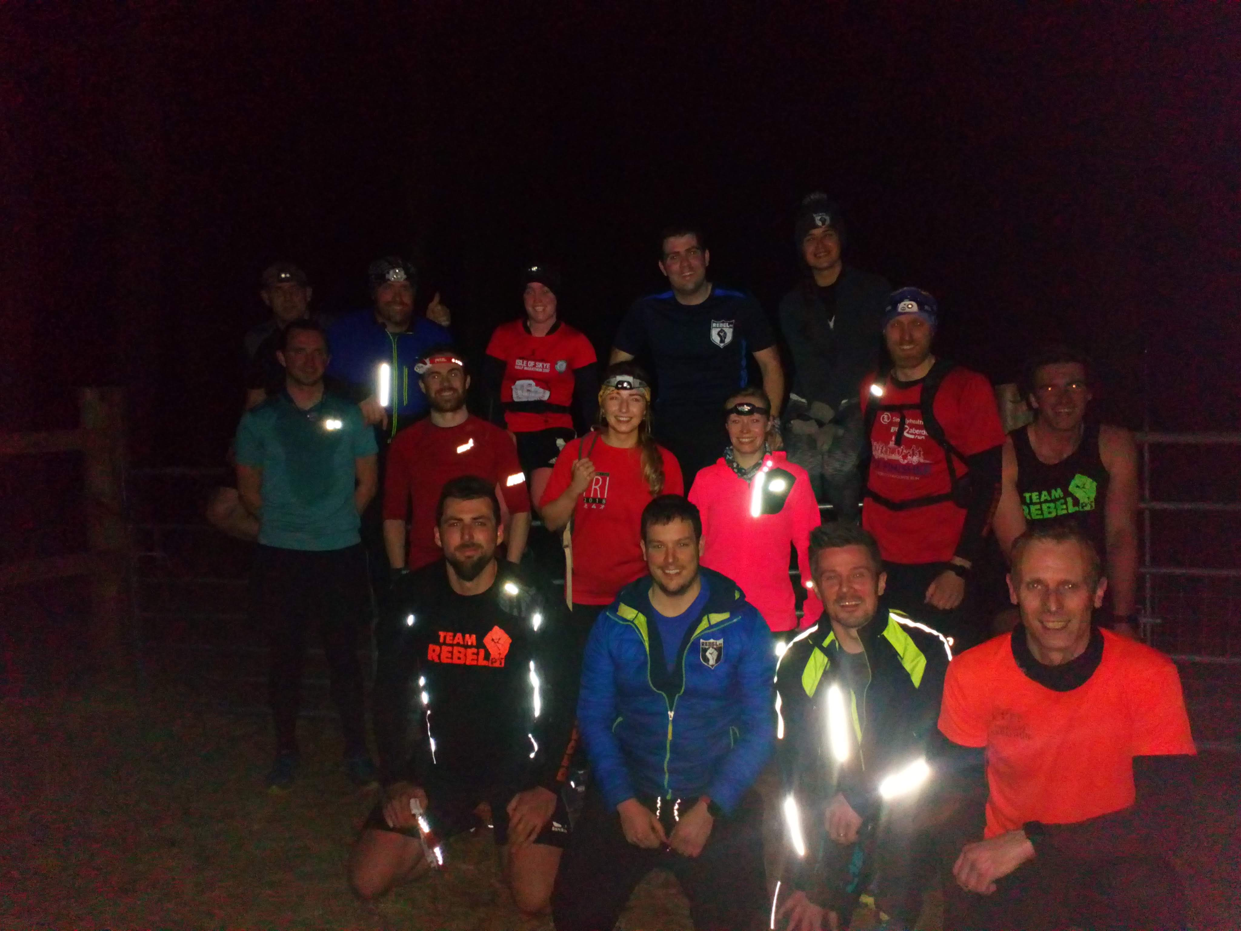 Scotty hill head torch time trial